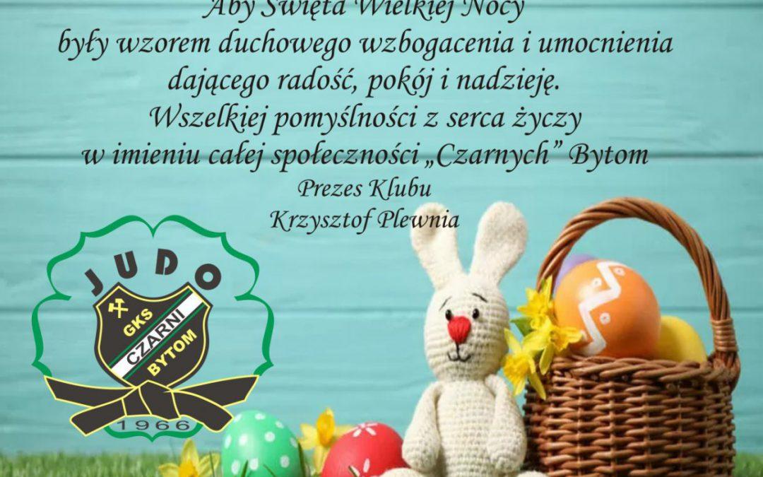 """Wesołych Świąt w imieniu całej społeczności GKS """"CZARNI"""" Bytom"""