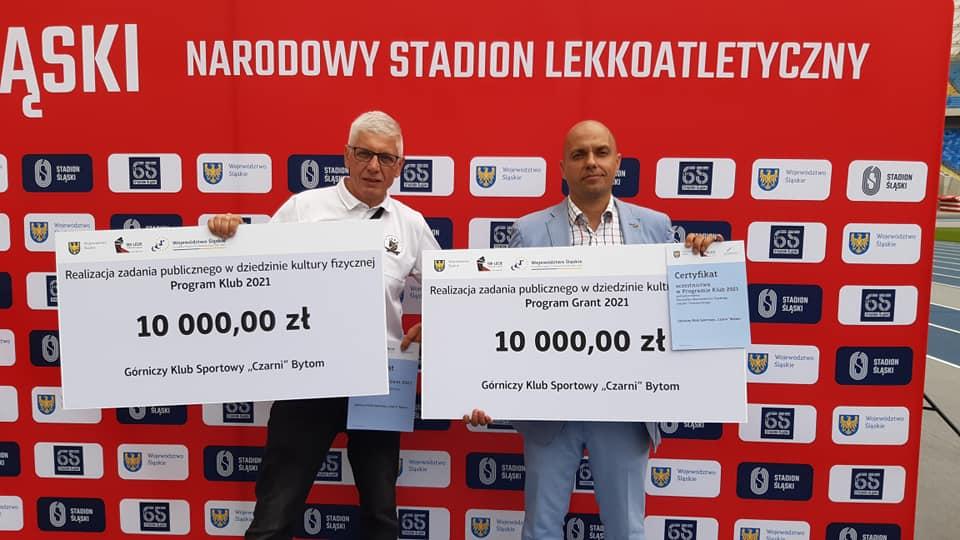 """GKS """"Czarni"""" Bytom otrzymali dotację na realizację zadania publicznego: Program Klub 2021 oraz Program Grant 2021"""